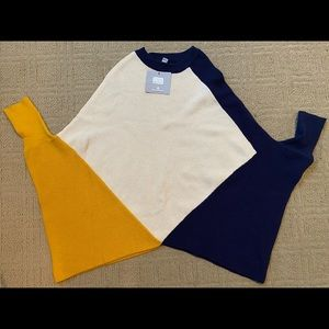 NEW MARC NEW YORK Color Block Sweater